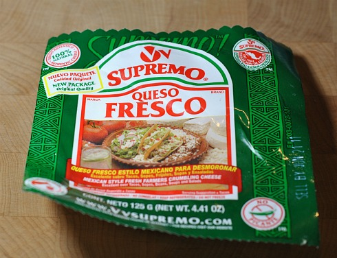 package of queso fresco