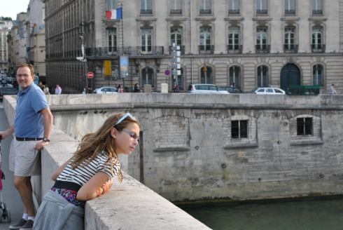 Gazing at the Seine