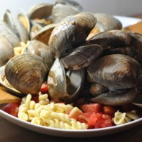 Clams Casino Summer Pasta
