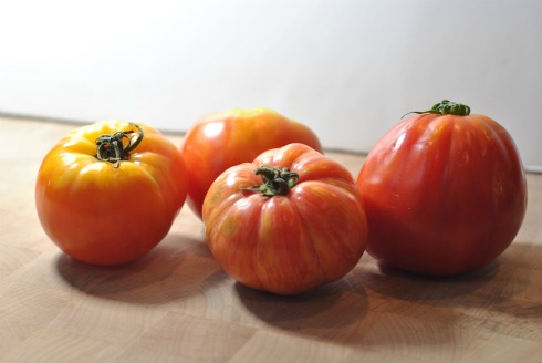 Red Heirloom Tomatoes