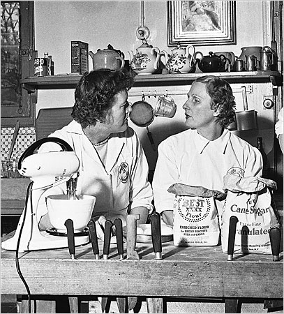 Julia Child with Simone Beck