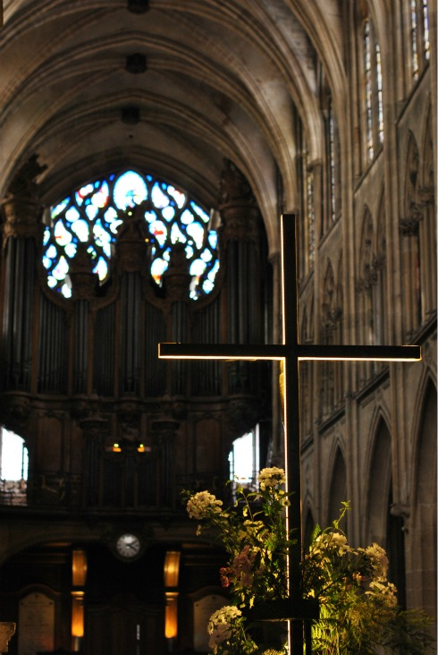 Cross at Eglise de St Sulpice