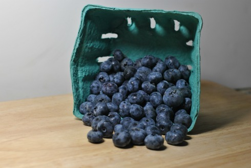 Blueberries Tumbling