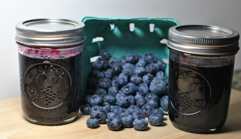 Blueberry Jam with Blueberries