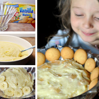 Preparing for Back to School with Healthy Snacks: Banana Pudding