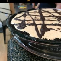 From Cooking to Eat to Cooking to Heal: Chocolate Peanut Butter Pie