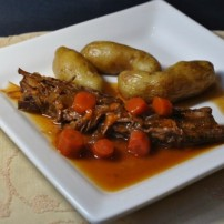 Sweet and Spicy Slow Cooked Brisket