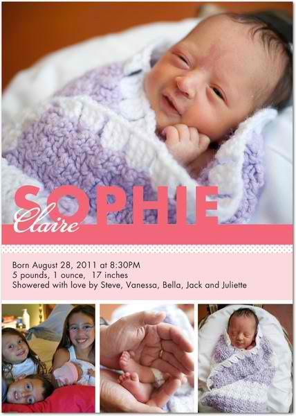 Traditional Birth Announcements in a Digital Age – Preemie Birth Announcements