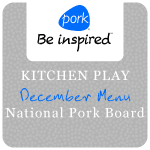 Kitchen Play December Menu National Pork Board