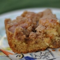 Vanilla and Brown Sugar Coffee Cake: Butter Therapy for Morning Haters