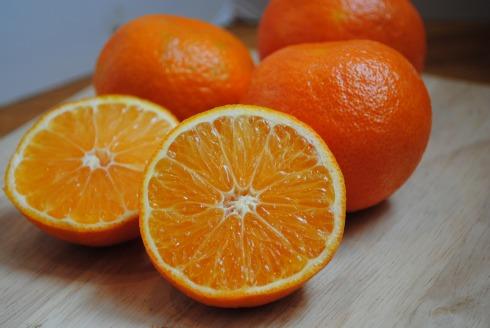 cut clementines