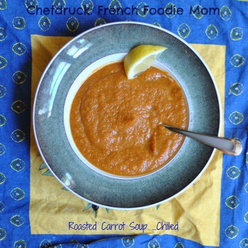 A Different Type of Chilled Soup: Roasted Carrot