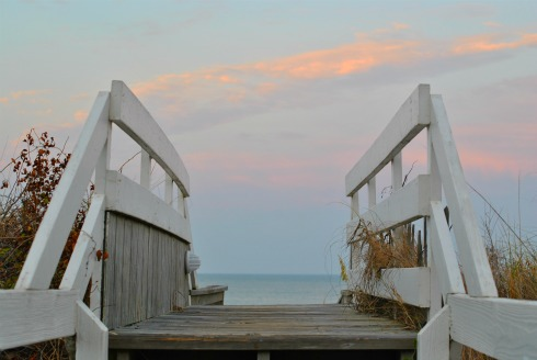 Stairs-to-Outer-Banks-Beach