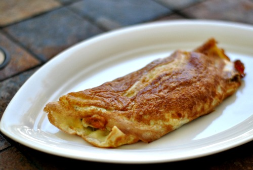 How To Make A French Omelette Roulee With The Help Of Julia Child