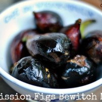 Grilled Figs Smothered in Goat Cheese and Truffle Oil: Summer Decadence