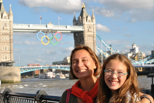 London Bridge Olympic Rings