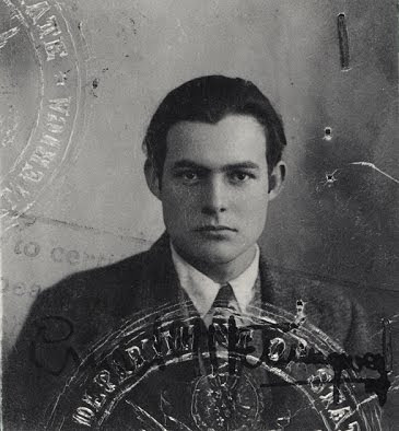 Hemingway Passport Photo