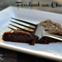 Just a Simple Little French Cake: Fondant au Chocolat