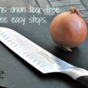Cutting Onions Tear-Free in Three Easy Steps