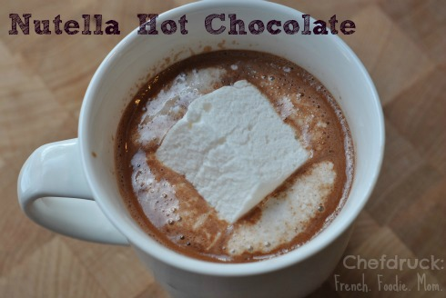 Nutella Hot Chocolate Warms Up Ghosts and Goblins