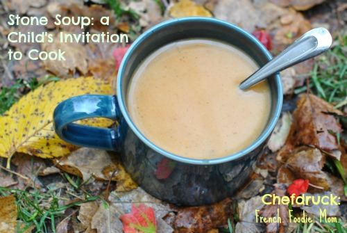 Stone Soup: a Child's Invitation to Fill the Pot