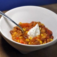 Relaunching a Fall Favorite: Rainbow Pumpkin Chili