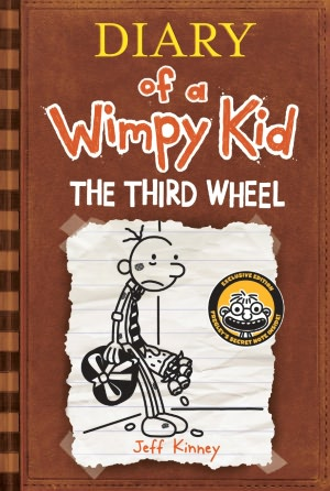 Diary of a Wimpy Kid Third Wheel Cover