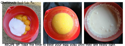 egg yolk beating tips