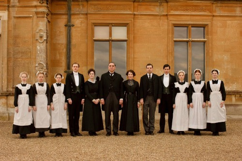staff of Downton Abbey