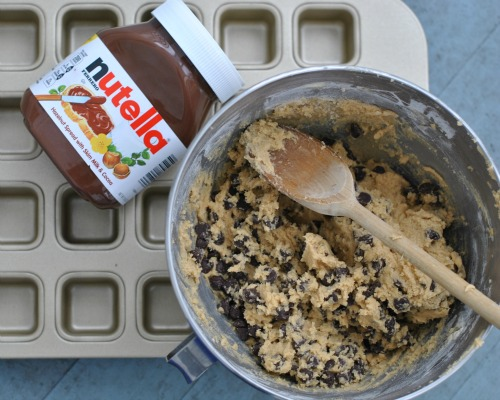 Cookie dough and Nutella
