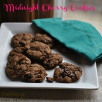 Midnight Cherry Cookies