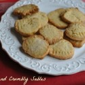Sweet and Crumbly Sables: a Grown Up Sugar Cookies for the Entire Family