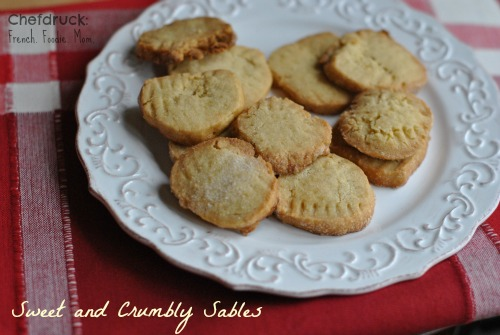sweet and crumbly sables