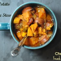 Sweet Potato and Sausage Stew: End World Hunger One Sweet Potato at a Time
