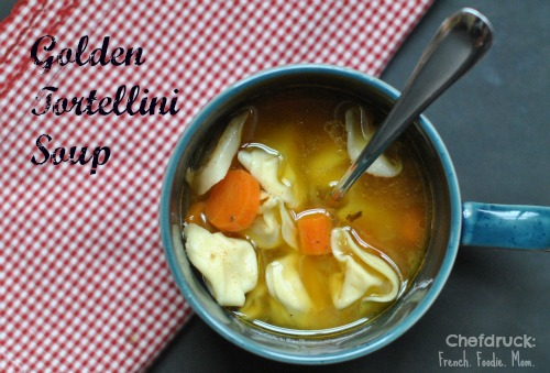 Golden Tortellini Soup: Delicious Poultry Therapy