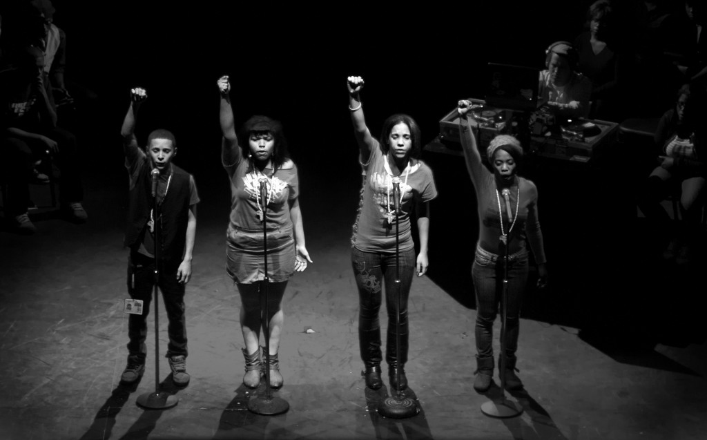 image courtesy of the Young Chicago Authors Organization, organizers of the Louder Than a Bomb Poetry Slam