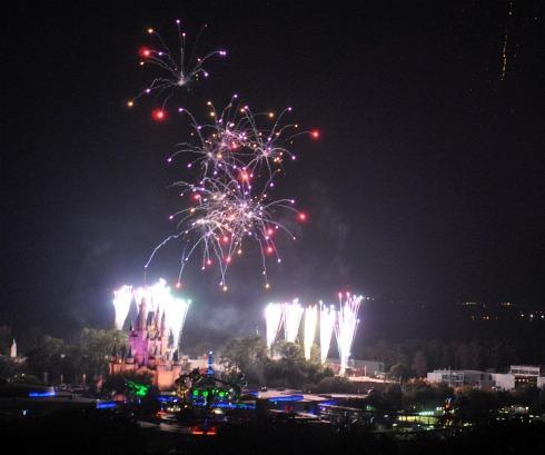 Disney Fireworks 3