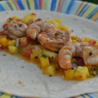 Mango Shrimp Tacos and Asian Steak Tacos: Taco Night Al Fresco Fiesta!