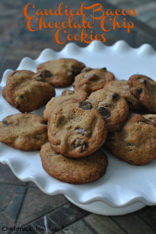 Candied Bacon Chocolate Chip Cookies Text