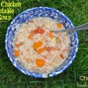 Chunky Chicken and Vegetable Alphabet Soup to Gear up for Summer Frenzy