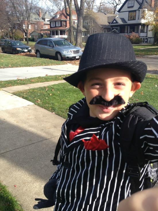 Jack as Halloween mobster
