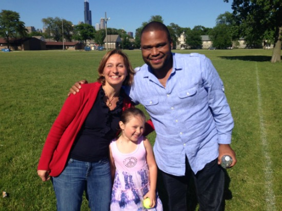 Juju and I with Anthony Anderson