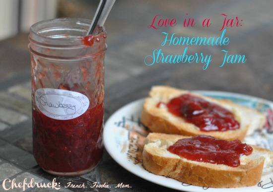 Making Memories and Simple Strawberry Jam Fresh from the Fields