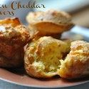 Bacon Cheddar Popovers: Warm Lunch for a Chilly Summer Day