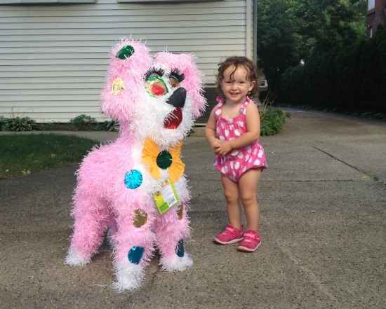 Sophie and Piñata