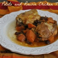 Sweet Potato and Raisin Chicken Tagine: a Fall Slow Cooker Recipe