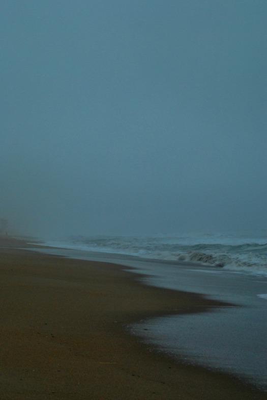 Blue Gray Beach
