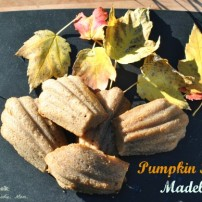 Pumpkin Spice Madeleines: Little Puffs of Fall