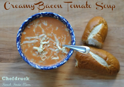 Creamy Bacon Tomato Soup: A Love Letter to Myself