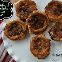 Mini Puff Pastry Chocolate Pecan Pies